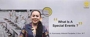 PRO Sesi 05: What Is A Special Event?