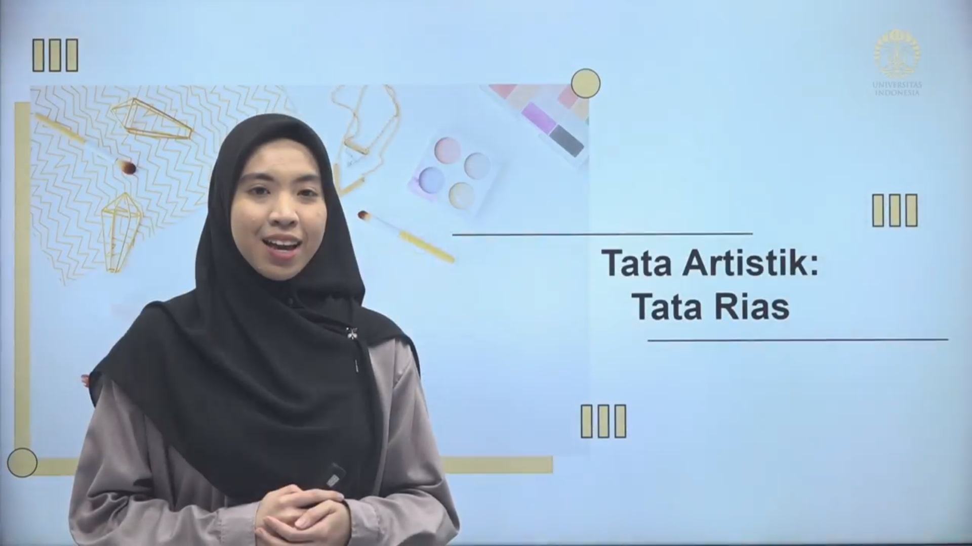 Public Relations Officer Session 02: Artistic Makeup (MC Performance)